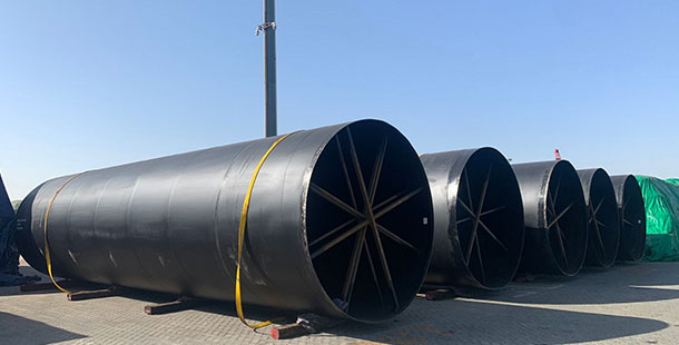 ASTM A53 SSAW steel pipe
