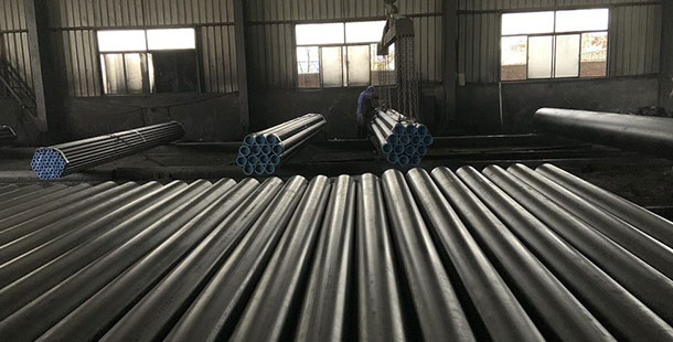DN 17175 ST35 seamless steel pipe